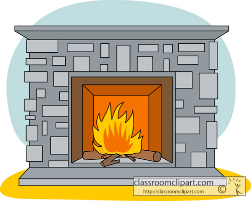 clipart fireplace - photo #4
