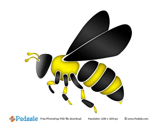 royalty free bee clipart - photo #25