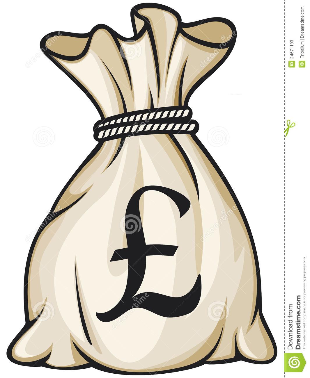 Money Bag Clipart - Clipart Suggest