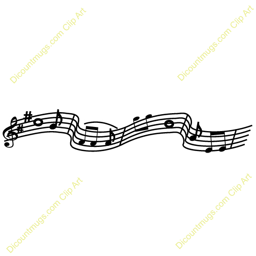 clipart music staff - photo #41