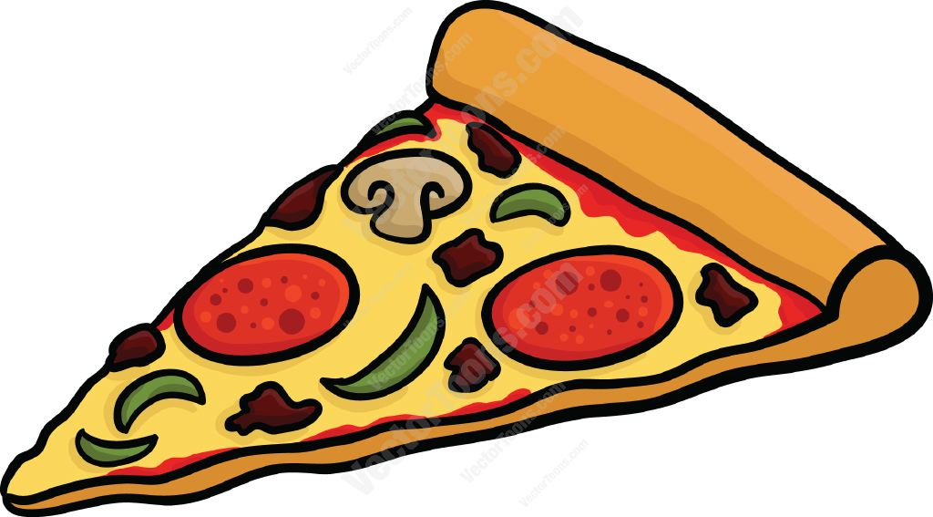 Pizza Slice Graphic