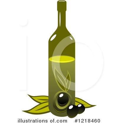 Royalty Free  Rf  Olive Oil Clipart Illustration By Seamartini