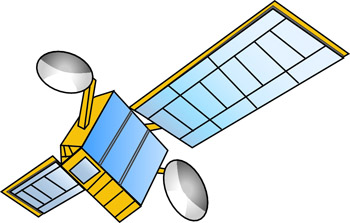 Science   Satellite 3a   Classroom Clipart