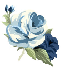 Stock  Blue Roses Clipart By Bomb4y On Deviantart