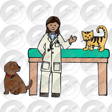 Vet Picture For Classroom   Therapy Use   Great Vet Clipart