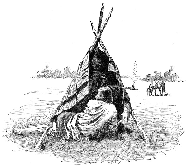 American Indian Clipart  Smoking Their Medicine