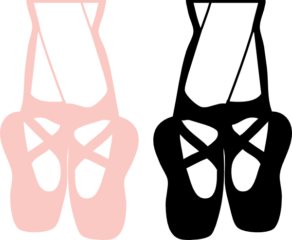 Ballet Feet Clip Art At Clker Com   Vector Clip Art Online Royalty