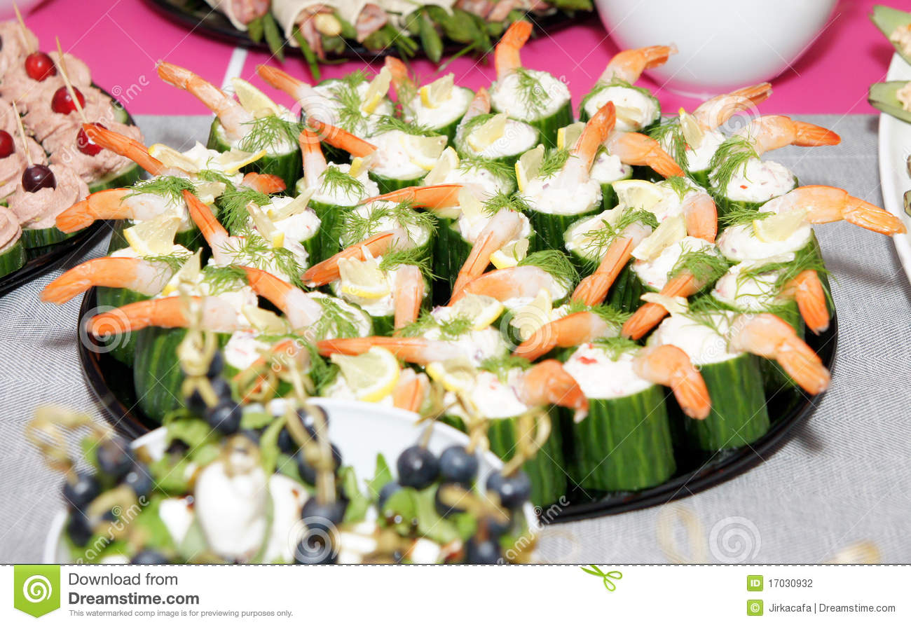 Banquet Appetizing Food Stock Photography   Image  17030932