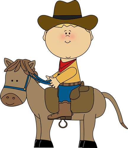 Cowboy And Horse Clipart F D  Roosevelt Elementary