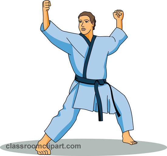 Martial Arts Instructor Clip Art