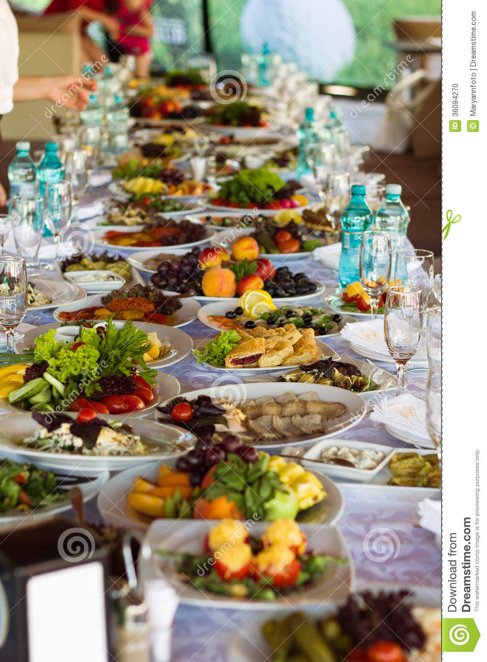 Festive Food Stock Photo   Image  36094270
