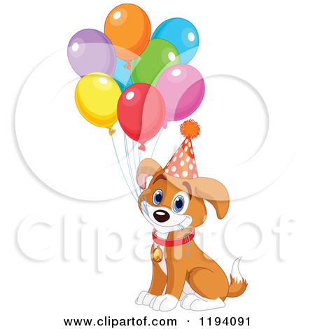 Boxer Birthday Clipart - Clipart Kid