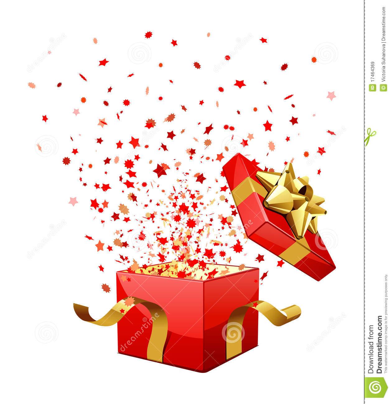 Caja regalo navidad vector png