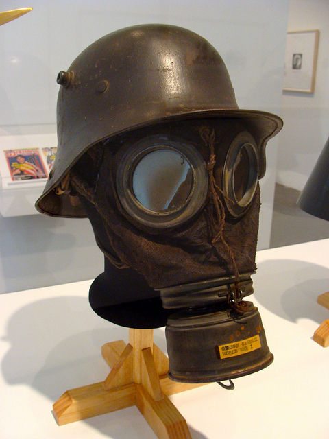 Ww1 Gas Mask And Helmet   Rakowitz   Flickr   Photo Sharing