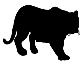 Animal Silhouette   Silhouette Clip Art