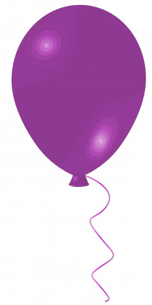 Balloon Purple Clip Art By Tammy Sue