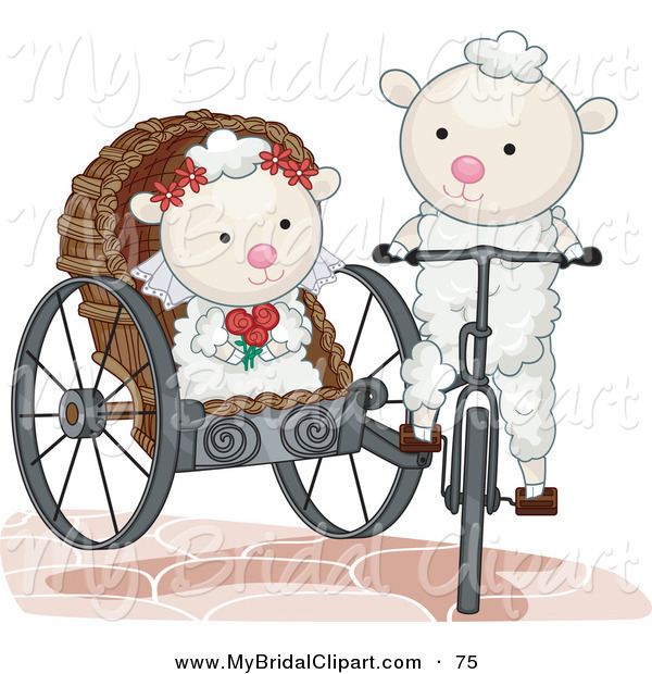 Bride And Groom And A Wedding Carriage Princess Wedding Clipart   Hd