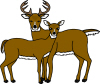 Buck And Doe Clipart Buck And Doe Clip Art