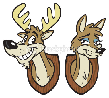 Buck And Doe Clipart   Cliparthut   Free Clipart