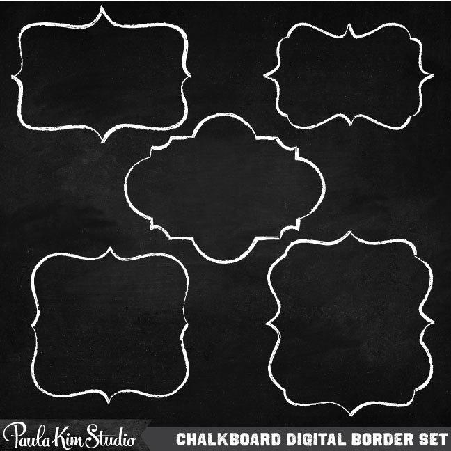 Chalkboard Borders Clipart Clipart Kid