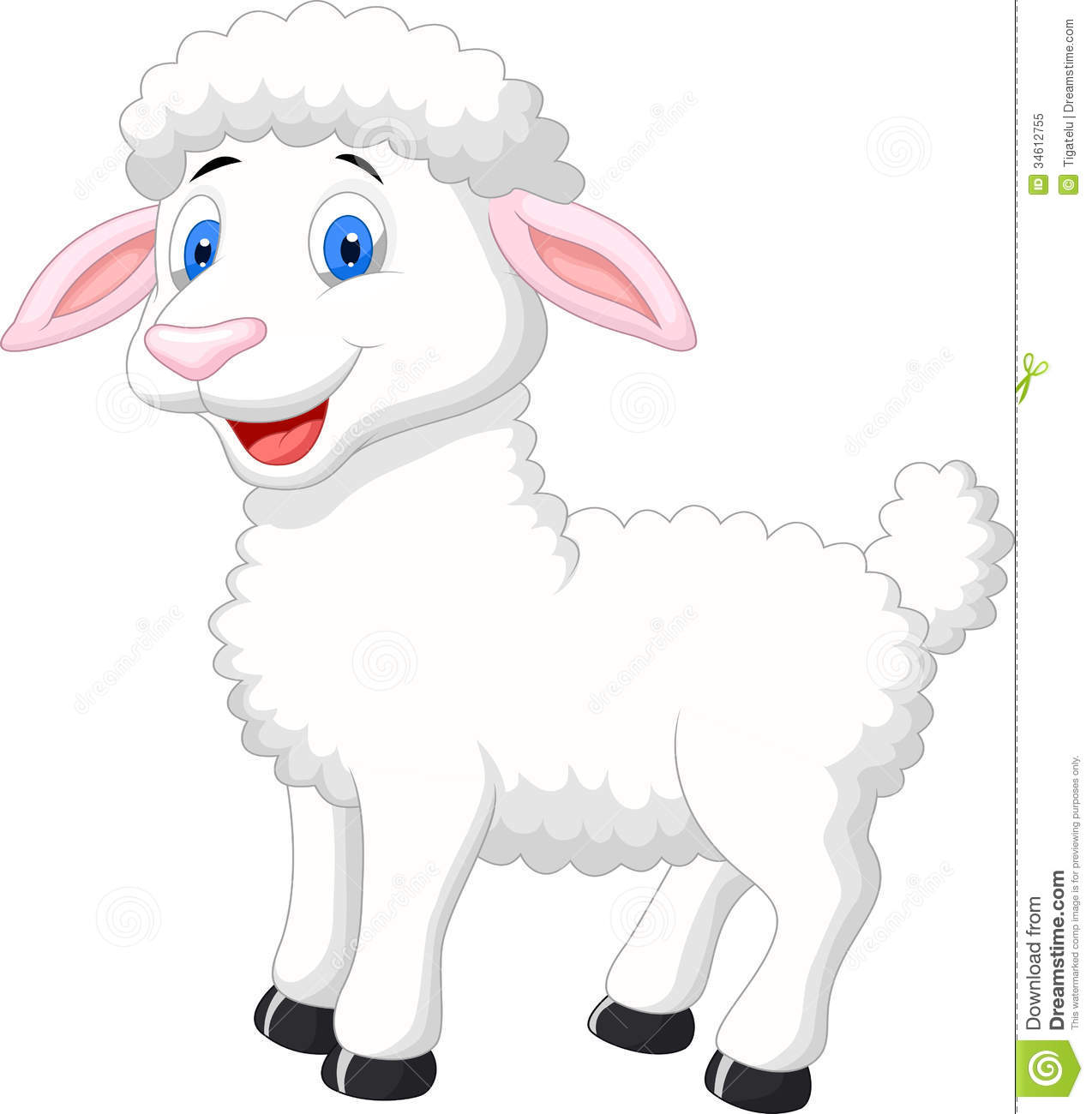 Cute Lamb Clipart Clipart Suggest