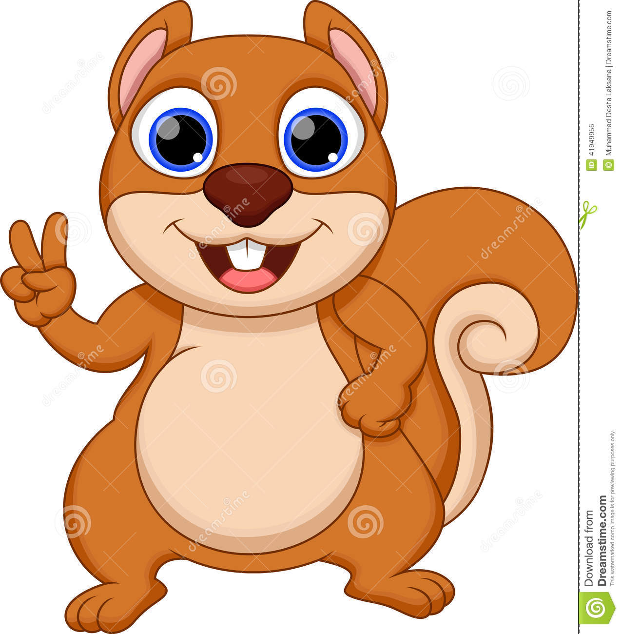 Animated Squirrel Clipart - Clipart Kid