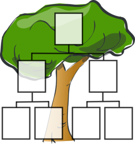 Family Tree Templates Clipart - Clipart Kid