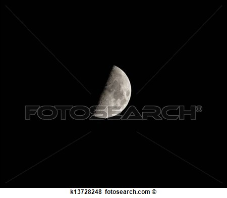 First Quarter Moon Clipart First Quarter Moon On 18th April 2013