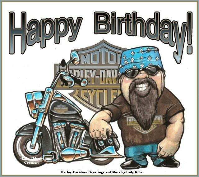 Поздравления с днем рождения байкера картинки