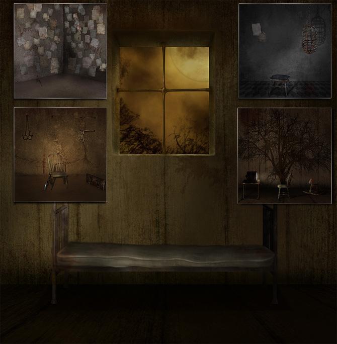 In The Dark Room By Folkvangar   Folkvangar Digital Artfantasy Art