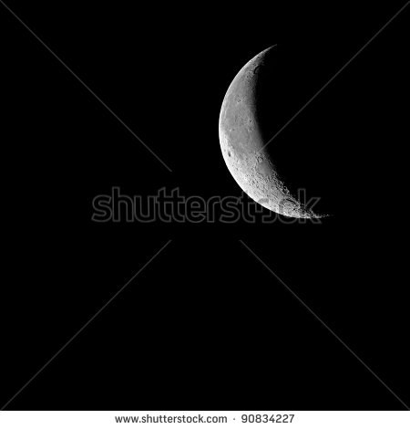 Last Quarter Moon Clipart First Quarter Moon With