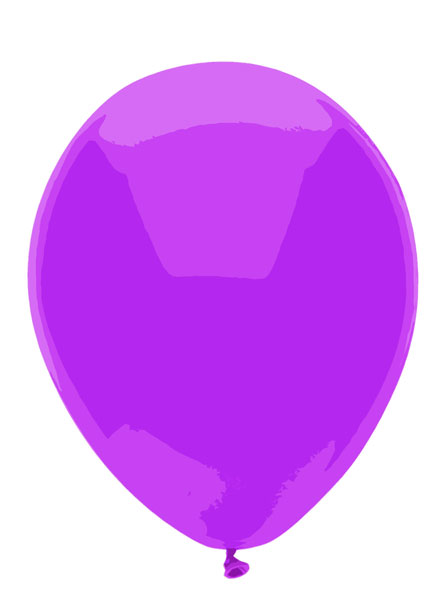 Purple Balloon Clipart Purple Balloon