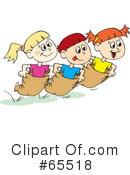 Royalty Free  Rf  Potato Sack Race Clipart And Illustrations  1