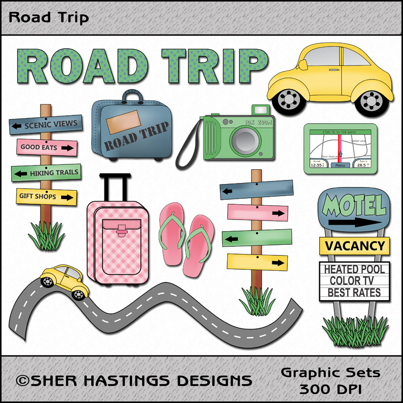 Sher S Creative Space  Vacation Clipart Images   Vacation Here I Come