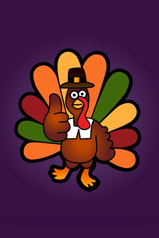 Cartoon Thanksgiving Wallpapers For Iphone4 4s   Picfish