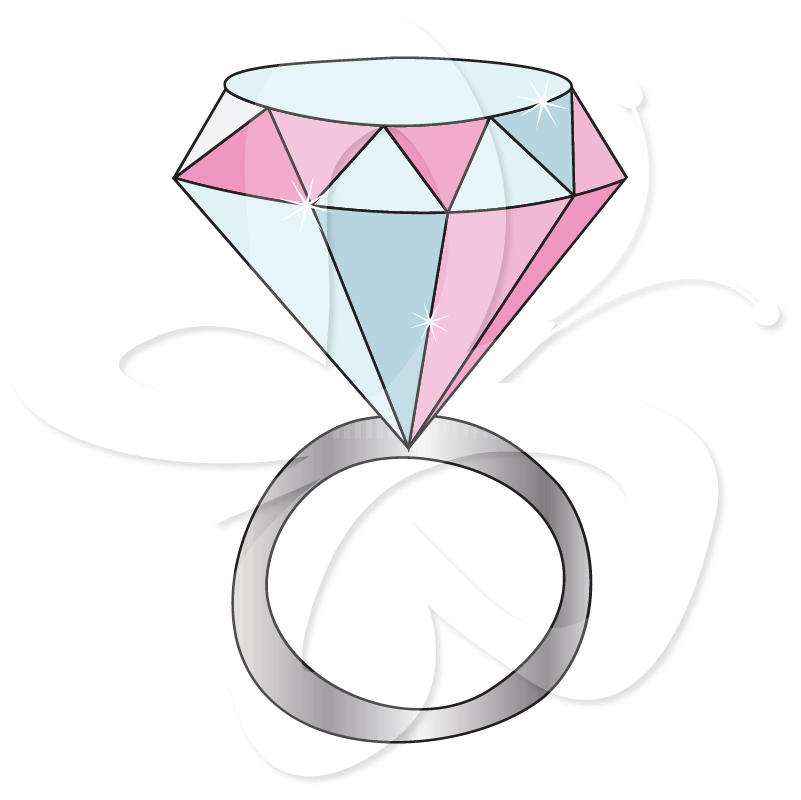 clipart of a diamond ring - photo #40