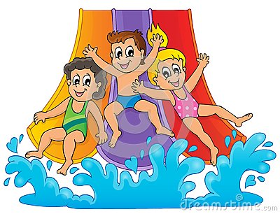 Displaying  19  Gallery Images For Water Park Slides Clip Art