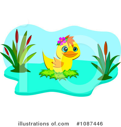 Duck Pond Clipart Royalty Free  Rf  Duck Clipart