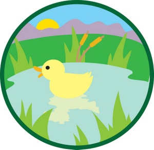 Duck Pond Game Clip Art Pond Clipart