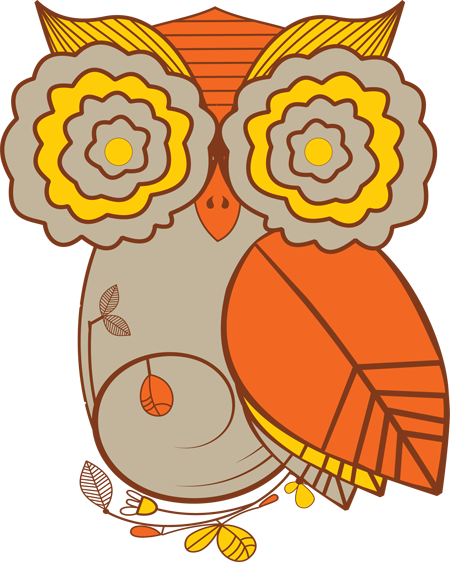 Owl Fall Clipart - Clipart Suggest