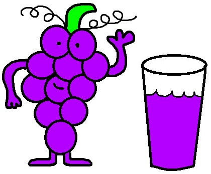 Grapes And Grape Juice Clipart