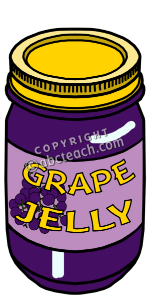 Jelly Clipart Jam Clipart Grapejelly Rgb Pw Png