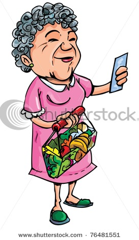 Clip Art Old Lady Clip Art old lady birthday clipart kid ladies shopping food cliparthut free clipart