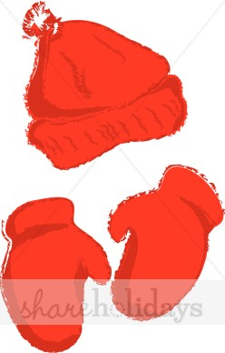Mittens Clipart Forest At Sunrise Clipart Tossing A Snowball Clipart