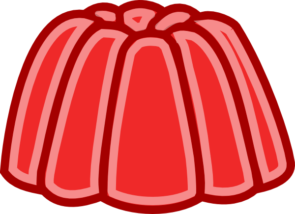 Red Jelly Clip Art At Clker Com   Vector Clip Art Online Royalty Free