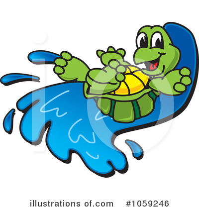 Royalty Free  Rf  Turtle Clipart Illustration By Toons4biz   Stock