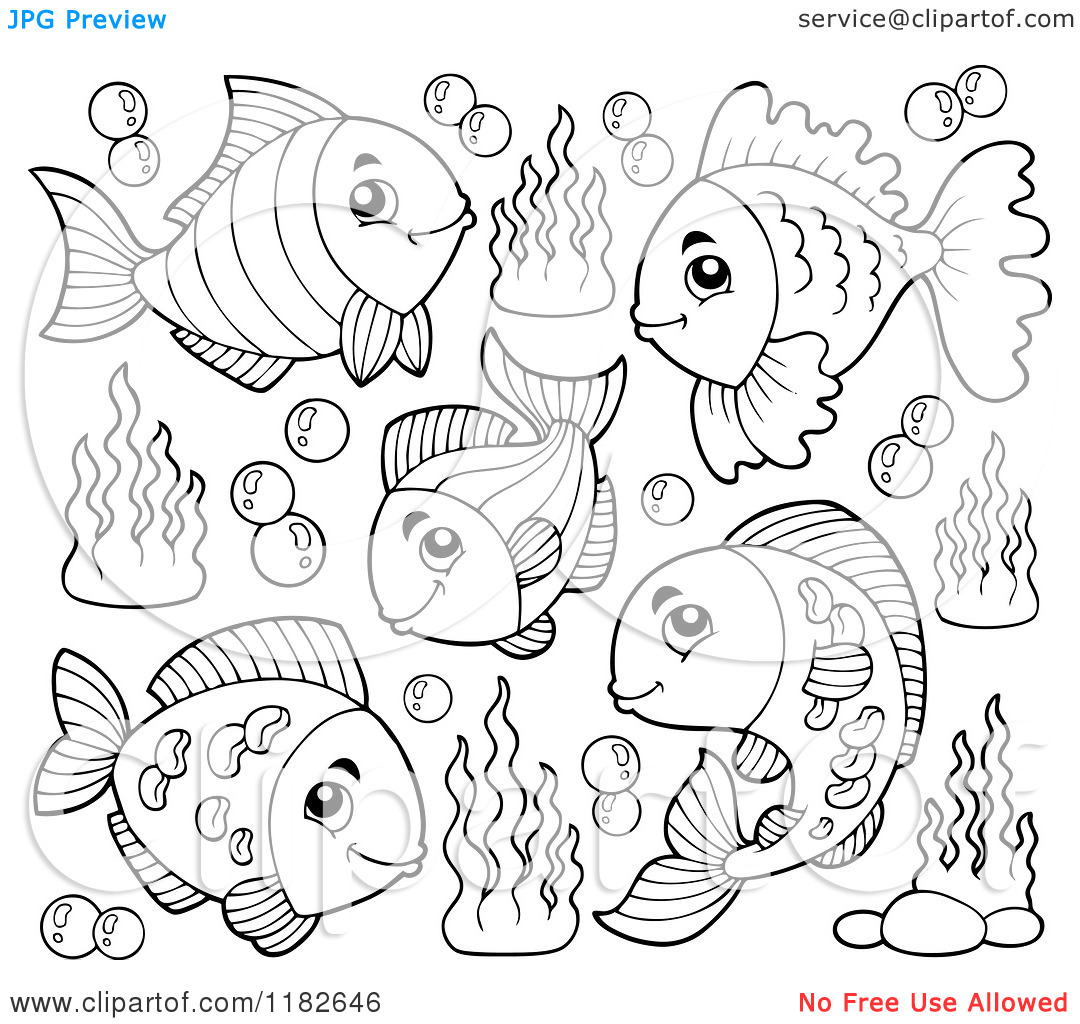 ocean plants coloring pages free - photo#31