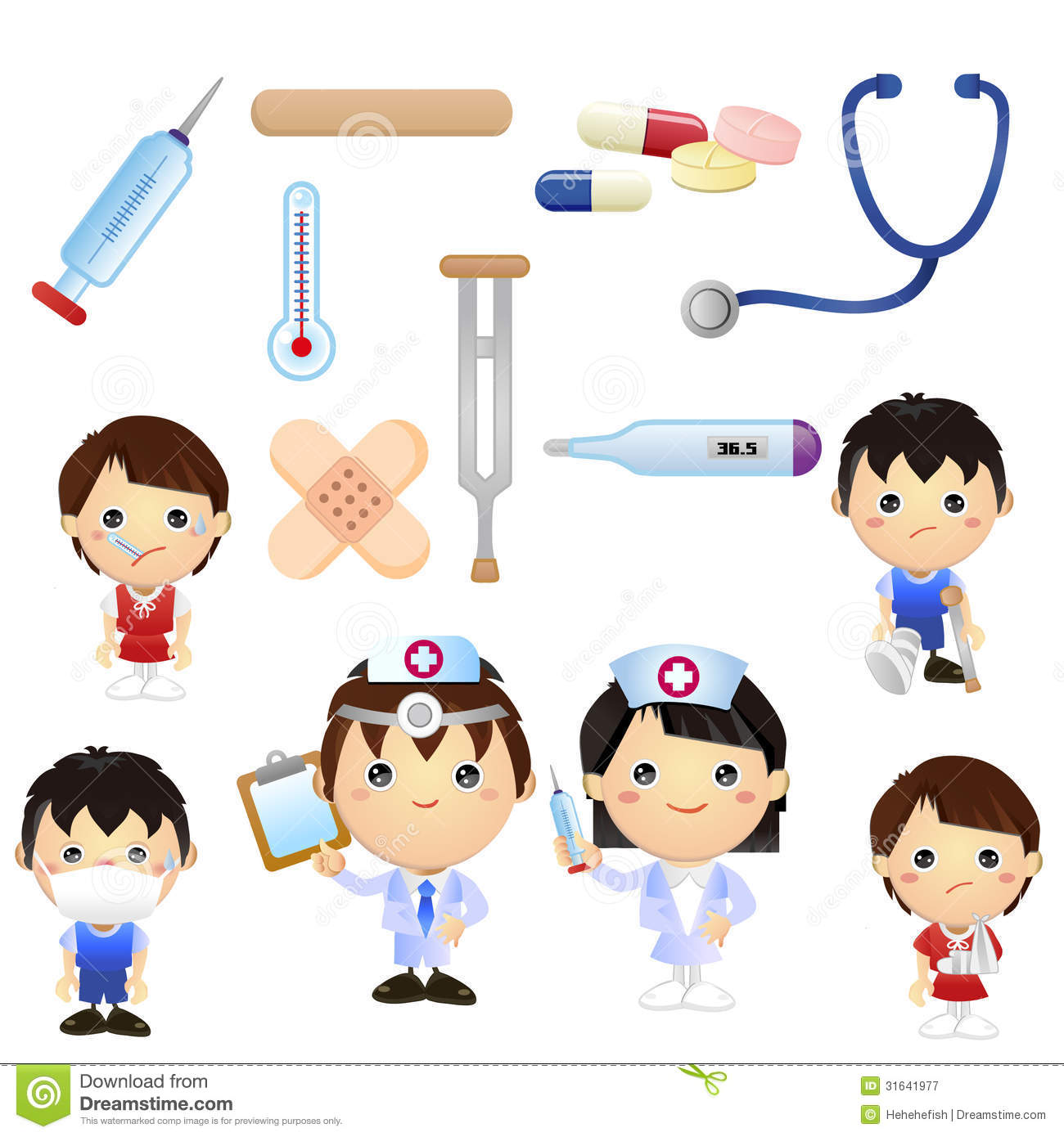 Clip Art Free Medical Clipart medical cartoon clipart kid set of good for teaching material book for