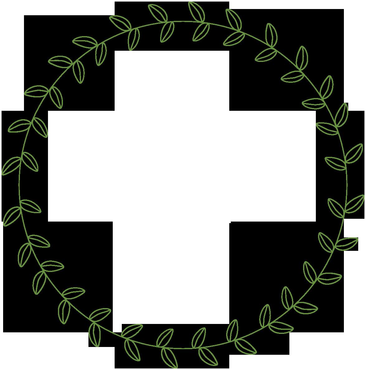 Rustic Wreath Clipart - Clipart Kid
