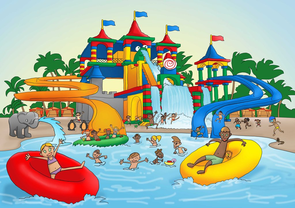 Water Park Clip Art   Wedding Decorate Ideas
